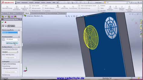 tutorial solidworks deutsch pdf solidworks deutsch tutorial lernvideo sheet metal vent