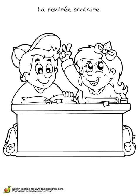 coloriage bureau coloriage bureau pour la rentr 233 e scolaire