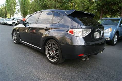 lowered subaru impreza wagon sell used 2011 subaru impreza wrx sti wagon cobb exhaust
