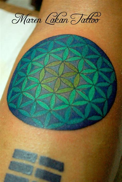 flower of life tattoo flower of colored symmetrical philippines