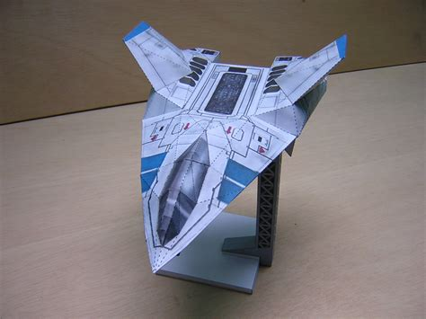 How To Make Ship Models In Paper - new wing commander paper model available wing commander cic