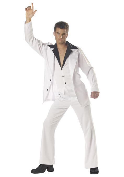 s white disco suit costume