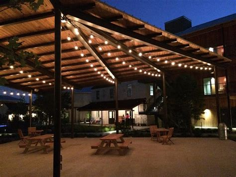 Patio Cafe Lights Outdoor Lighting Perspectives