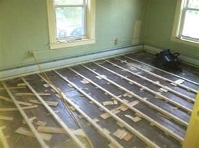 Level Floor Leveling Floor Joists With Shims Floor Matttroy