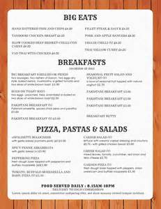 Menu Template Doc by Doc 585585 Free Menu Templates For Word Free Menu