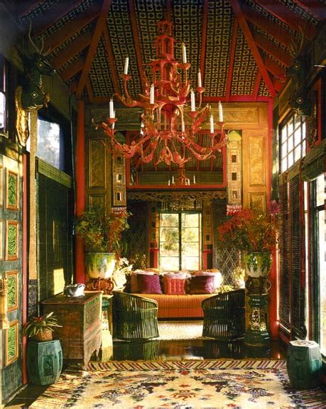 Tony Duquette Interiors by Tony Duquette More Is More An Interior Design