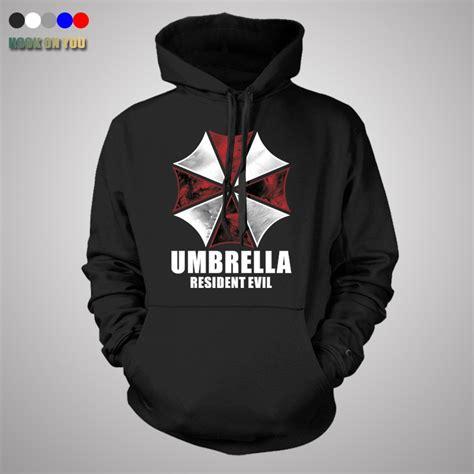 Umbrella Coat Hoodie Jacket resident evil hoodie costume costume hooded