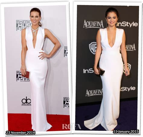 Who Wore It Better Carpet Style Awards 3 by Who Wore Kaufmanfranco Better Kate Beckinsale Or Selena