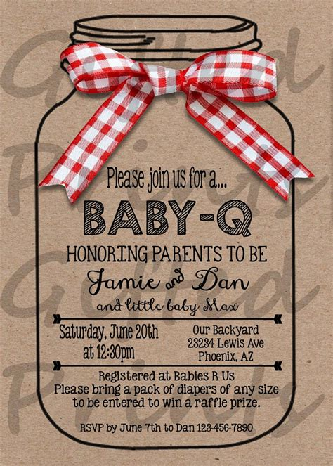 Baby Shower Invitation Q Th With Vintage Blue Baby Shower Bbq Barbeque Q Invitations Yourweek Baby Q Invitations Templates Free