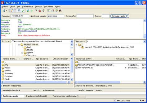 tutorial filezilla xp filezilla server para windows xp