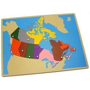 map of canada puzzle montessori materials puzzle map of canada