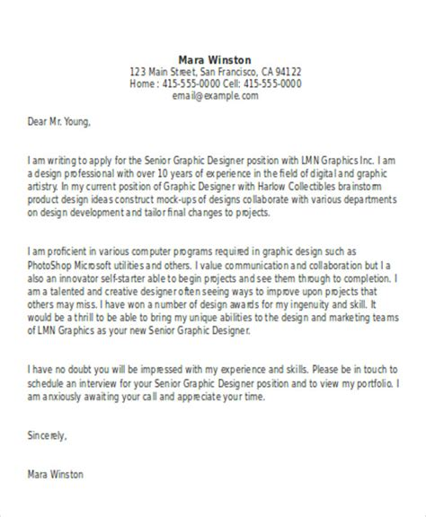 senior graphic designer cover letter free best graphic design cover letter web developer