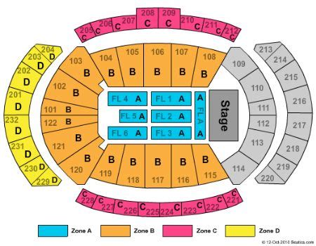 sprint center floor plan sprint center tickets and sprint center seating chart