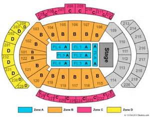 concerts seating map capacity 41118 billy joel seating map
