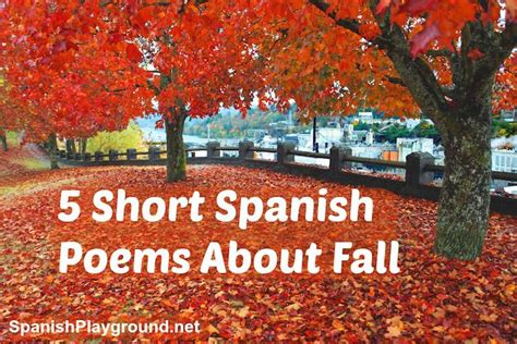 short and easy spanish 1539425215 short spanish poems about fall