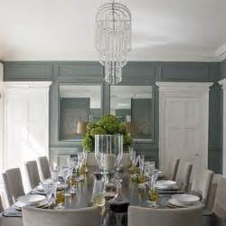 Dining Room Grey Blue Blue And Gray Dining Room Transitional Dining Room
