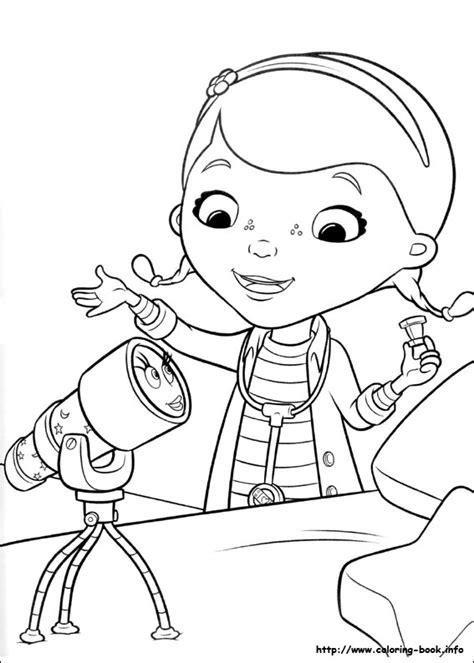 coloring pages doctor mcstuffins doc mcstuffins coloring page coloring sticker book 14118