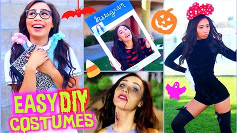 fast affordable diy halloween costumes cute funny