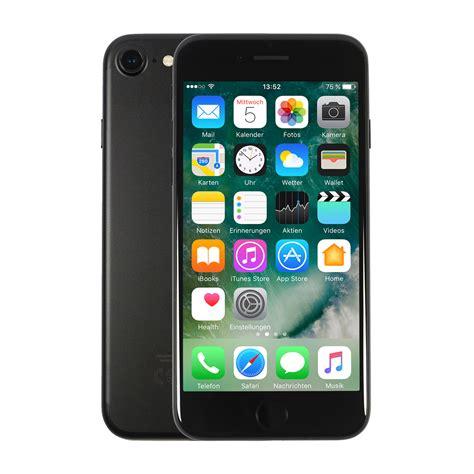 apple iphone 7 32gb schwarz bei notebooksbilliger de