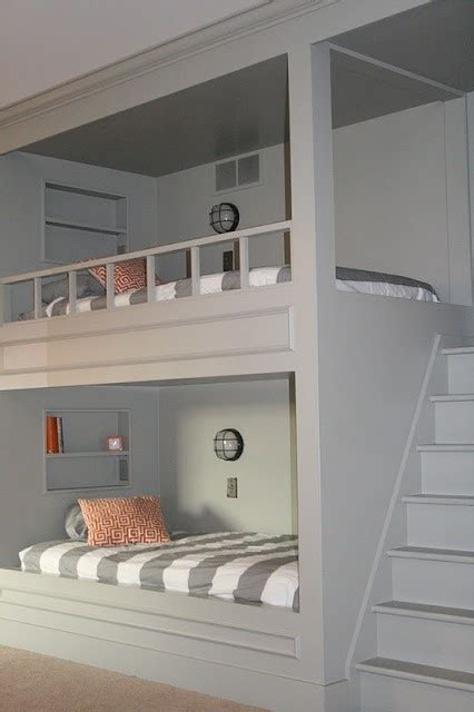 Bunk Bed With Built In Stairs Bunk Bed Idea With Built In Stairs Future Home
