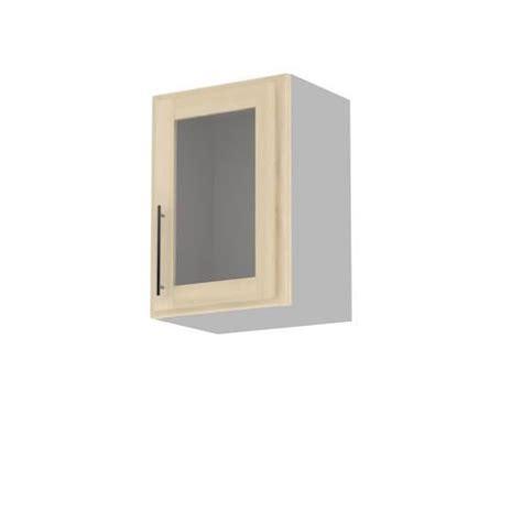 fa軋de de porte de cuisine meuble cuisine mural 50cm 1 porte vitree 50x71 achat