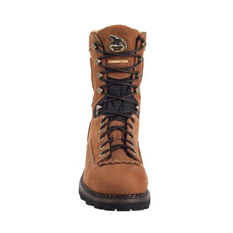 georgia comfort core logger boots gore tex 174 waterproof comfort core logger work boot