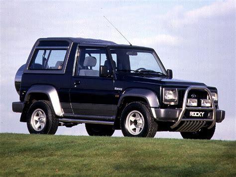 Turbocharger Daihatsu Taft Rocky 3 0 L Turbo Charger Capital daihatsu rocky wagon se turbo diesel 1994 parts specs
