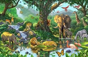Daycare Wall Murals animals murals murals your way