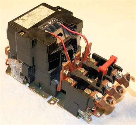 used square d 89536sf01s ac motor starter