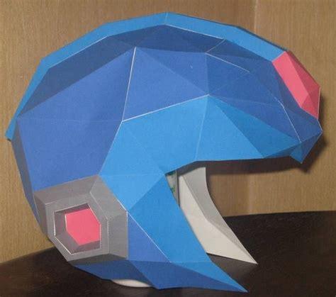 Papercraft Helmet - 2bsize 2bpapercraft 2bmegaman 2bx 2bhelmet jpg