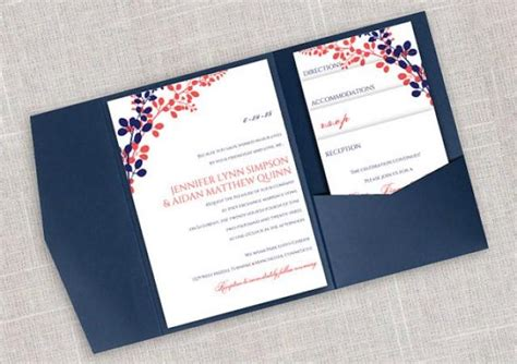diy pocket wedding invitations templates diy pocket wedding invitation template set instant