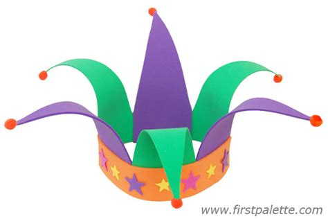 How To Make A Jester Hat Out Of Paper - jester s hat craft crafts firstpalette