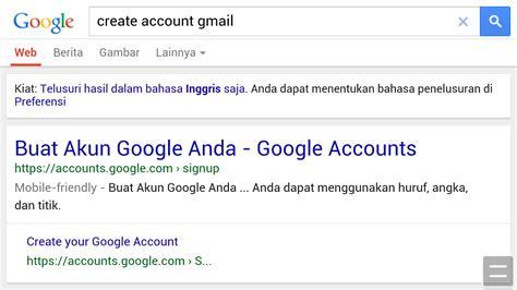 syarat usia membuat akun google cara membuat e mail dari google sudut pandang