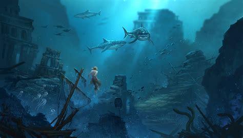 Ac4 underwater fanart by sandara on deviantart