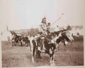 Spotted rabbit aps 225 alooke crow on horseback ca 1905 montana