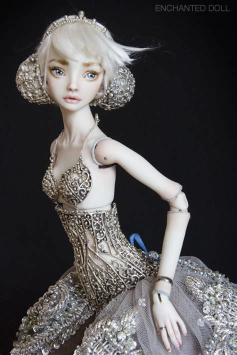porcelain doll meaning the mermaid in the living room about enchanted doll