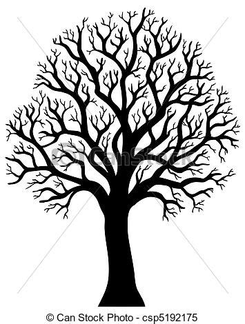 trees silhouettes stock illustration image of color 43384093 2 arbre sans silhouette feuille silhouette illustration arbre sans vecteur 2 feuille