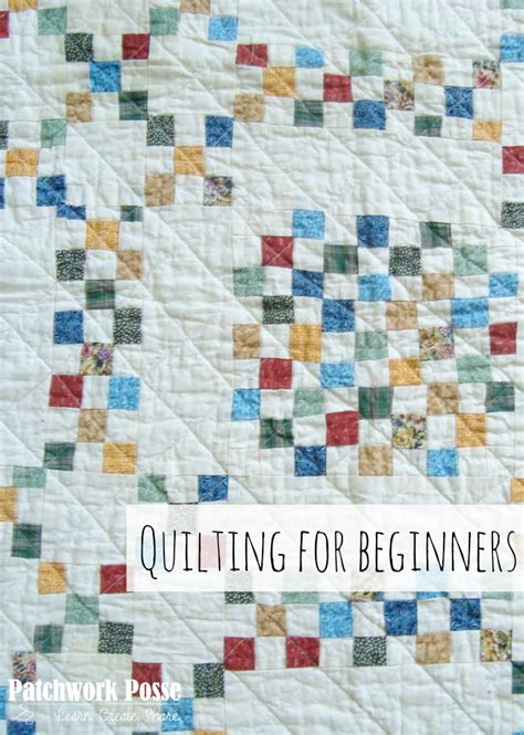 Patchwork Quilting For Beginners - quilting for beginners