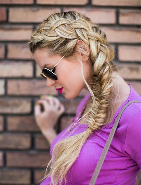 fishtail braid on the side fishtail summer side 426 best be gorgeous bridal hair styles images on