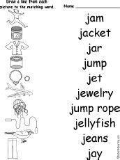 letter j alphabet activities at enchantedlearning