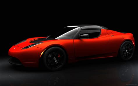 tesla roadster sport tesla roadster sport wallpaper hd car wallpapers id 1269