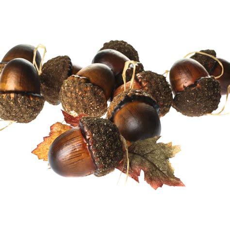 acorn ornaments large artificial acorn ornaments on sale crafts