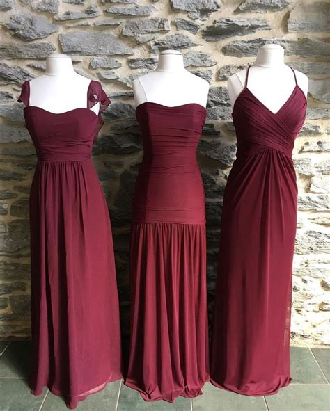 davids bridal colors 75 best images about burgundy wedding on