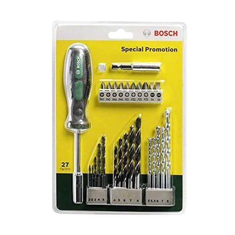 Bosch X Line Set Mata Bor Mata Obeng Variasi 33 Pcs jual bosch x line set mata bor besi kayu beton mata