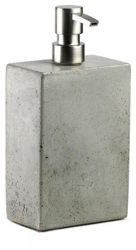 Modern Bathroom Soap Dispensers Concrete Soap Dispenser Concrete Modern