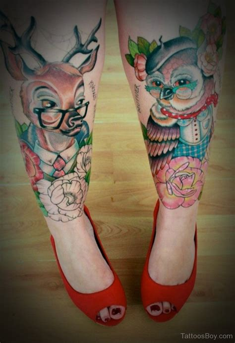tattoos on leg for ladies leg tattoos designs pictures page 8