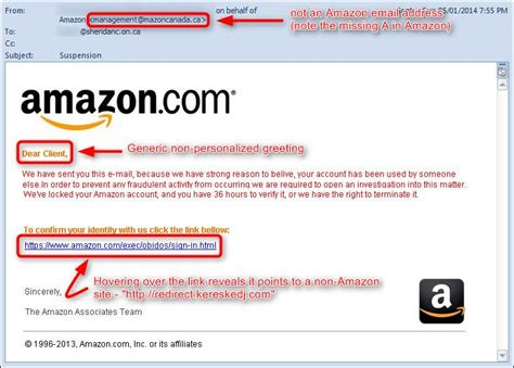 amazon email again phishing is the method of choice for acquiring the