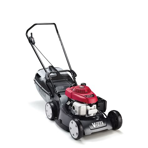 victa mustang honda 4 stroke lawn mower victa 19 quot 160cc mustang alloy mulch or catch lawn mower