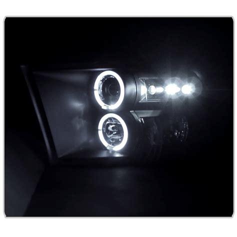 2013 ram led headlights 2009 2013 dodge ram dual halo led projector headlights