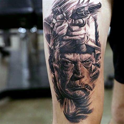 old western tattoo designs thigh gallery part 48 tattooimages biz